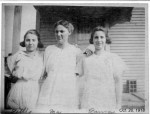 Lettie Misson, Bertha Richardson, Laura Misson