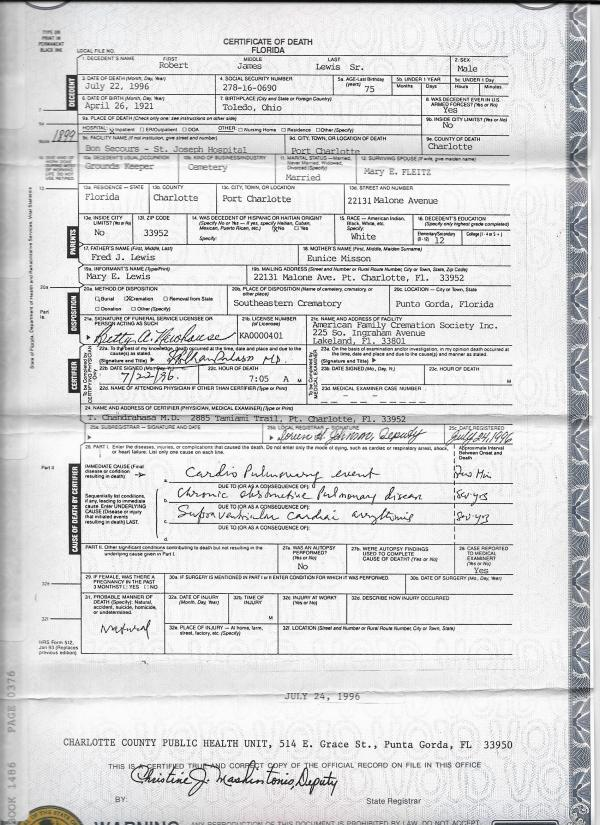 The Guthrie Mccoy Misson Showalter Families Family Documents